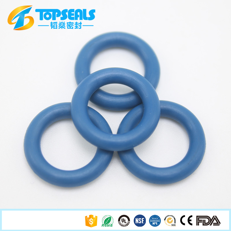 supply high quality blue buna-n abrasion resistant <strong>rubber</strong> o ring