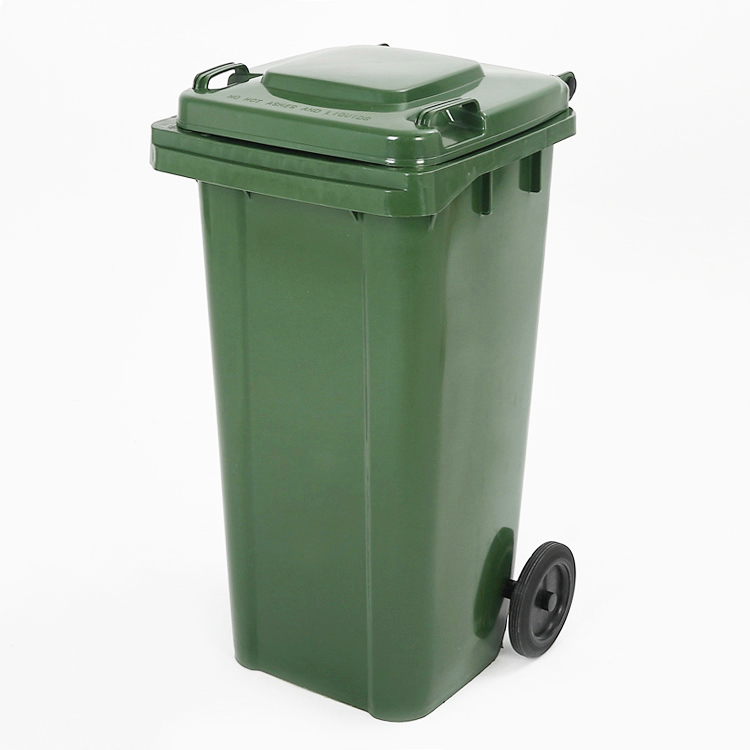 Mobile 2 Wheeled Recycle Garbage Bin