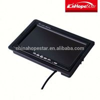 Best Quality 7 inch car backup mirror monitor stand with touch screen