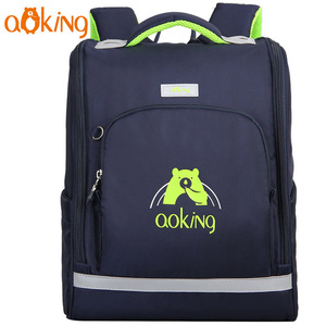 AOKING Trendy healthy straps design child school bag leisure travel daily school backpack with large compartment