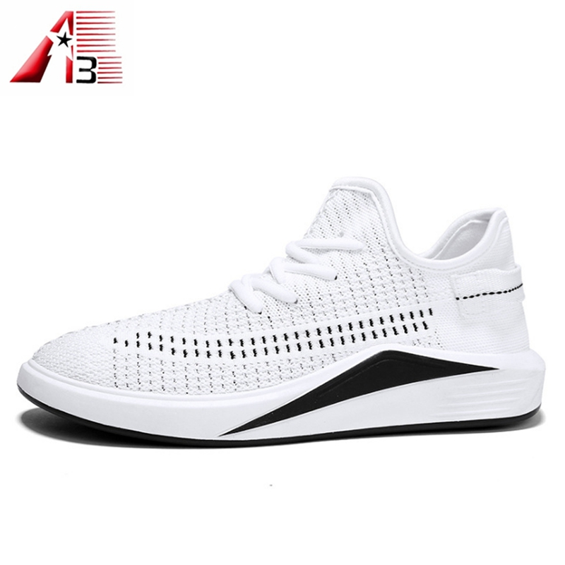 quality 2018 men Fashion sport upper weave fly shoes sport high shoes running jinjiang 44r8q