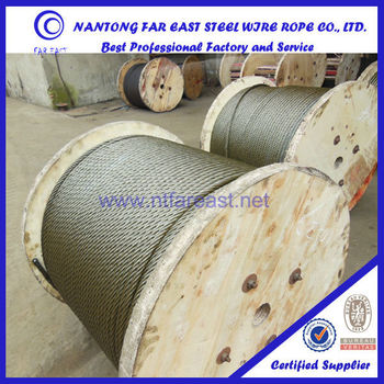 Hemp Core 18*19s Elevator Wire Rope Cables/ Steel Cable/steel Wire ...