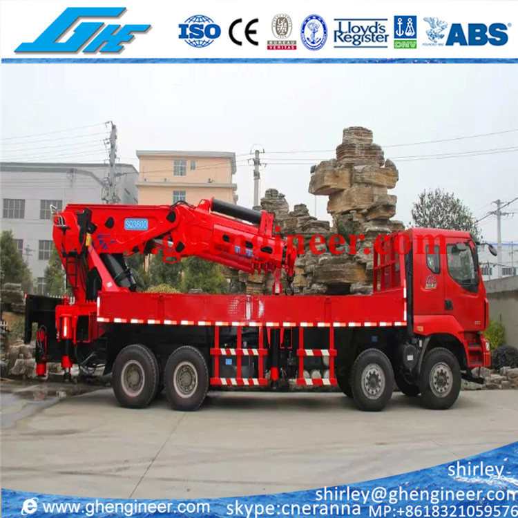 Chinese Hydraulic mobile Crane 3600