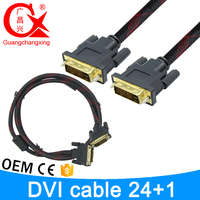 Wholesale Quick Connection Male to Male 24+1 DVI Dual Link DVI Cable 10FT