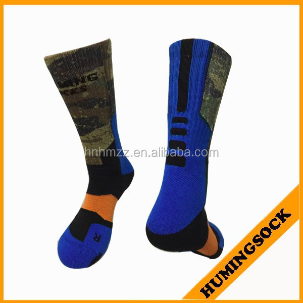 Reinforced Toe and Heel Basketball Sublimation Socks