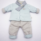 winter quilted cotton baby clothing sets
