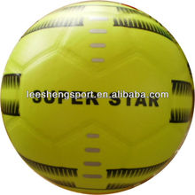 Shiny colorful pvc lamation football soccer & provide OEM products