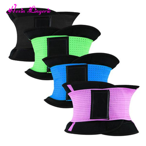 Customized Plus size neoprene waist trimmer slimming belt for weight loss