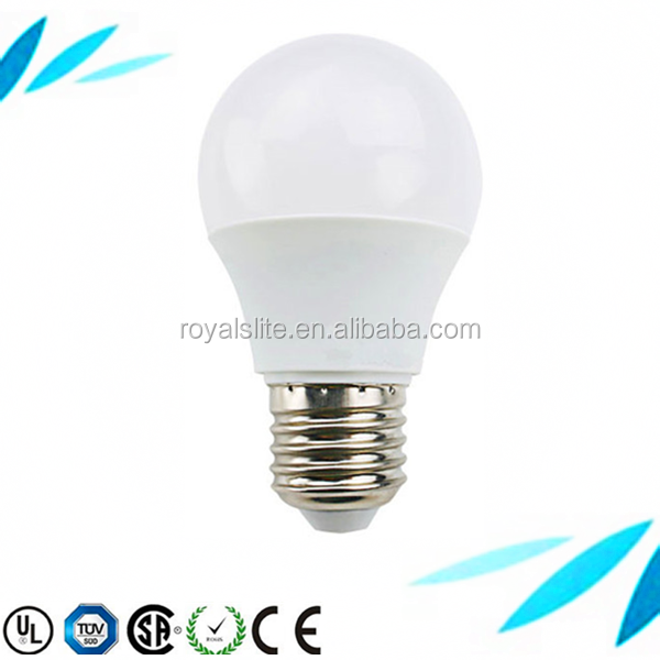 UL CE ROHS led lighting fixture high bright lampe a led energy saving e27 led grow light bulb