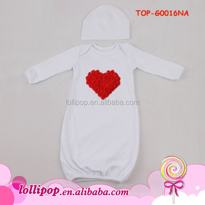 Boutique Baby Evening Dress Layette Gown Raglan Custom American ...