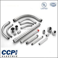 "China Factory Competitive Price UL LISTED 1/2""-6"" Customized Stainless Steel Conduit Pipe,10ft./3.05m Length Conduit"