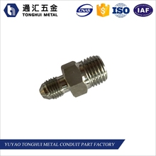 JIC AN male nipple,Hydraulic hose nipple fittings, pipe Nipple