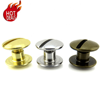 Custom Brass Book Binding Screw Post Binders , Aluminum Male Female Chicago Screw