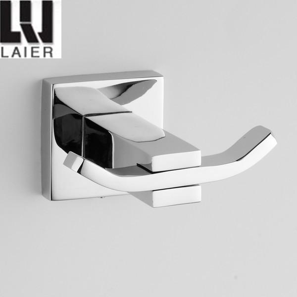 chrome square bathroom accessories chrome square bathroom accessories 2015 design zinc robe hook
