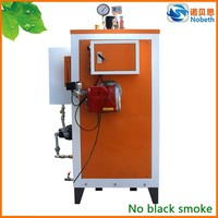Fast ship oil gas fired vertical level control steam boiler
