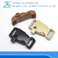 custom whistle buckle Side Release Whistle Buckles