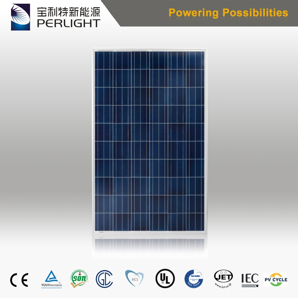 Thin Film Poly Si Solar Cell in Home Solar Panel Kit 260 Watt Solar Panel