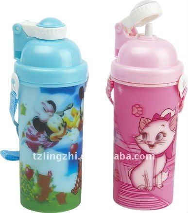 3D Children Water Bottle,BPA is free