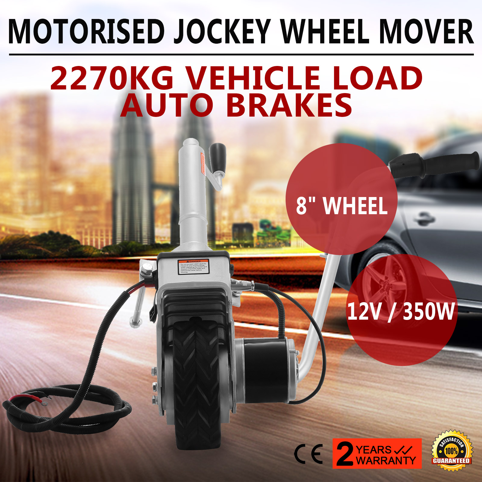 Best Price 5000lbs 12V Trailer Wheel Motorised Jockey Wheel
