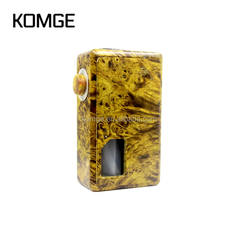 Komge New Coming Vaping Mech Mod Box 2017 Wholesale Vape Squonk Mod with eliquid bottle