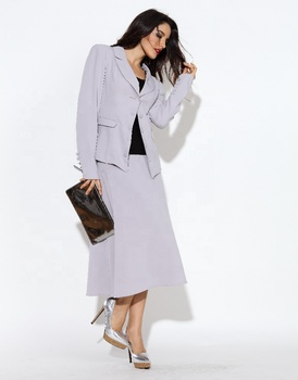 Pretty Steps Customized Size Linen Fabric Office Blazers Women Formal Suits