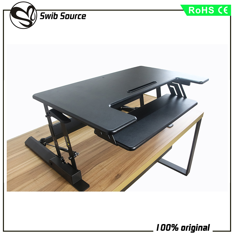Swibsource computer table sit to stand desk VM-LD02-A2 VARIDESK