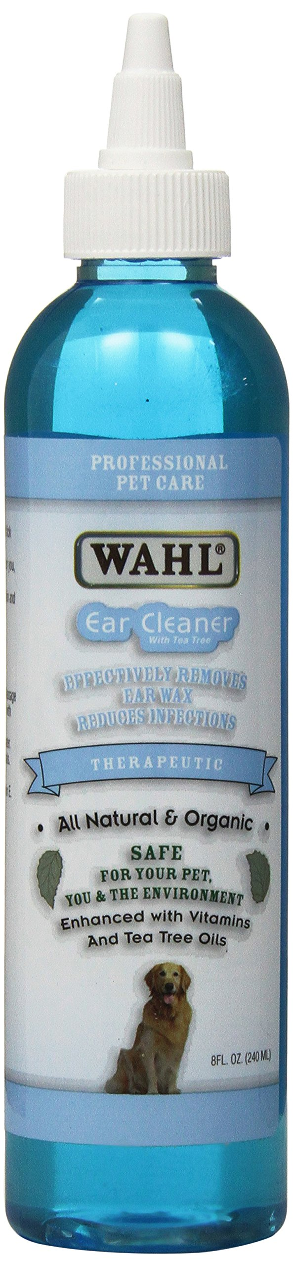 Wahl 800103-200 Ear Cleaner (8 oz.) Professional Pet Care by Professional Animal