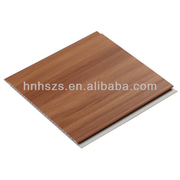 Suspended Ceiling PVC Panel Laminated Wood for Wall