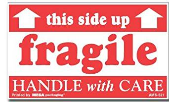 photo relating to Fragile Printable known as Reasonably priced Printable Delicate Labels, obtain Printable Delicate