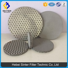 various material Multiple layers of sintered meshes auto clean filter applied to cooling water treatment