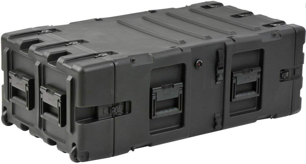 "SKB Cases 3RS-5U30-25B 5U 30"" Deep Static Shock Rack, Standard payload range of 40 to 150 lbs, Standard rack depth 30"" rail to rail, Automatic pressure relief valve, Lid hangers, Case coupling straps"