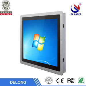 x86 single board computer industrial use with capacitive touch screen
