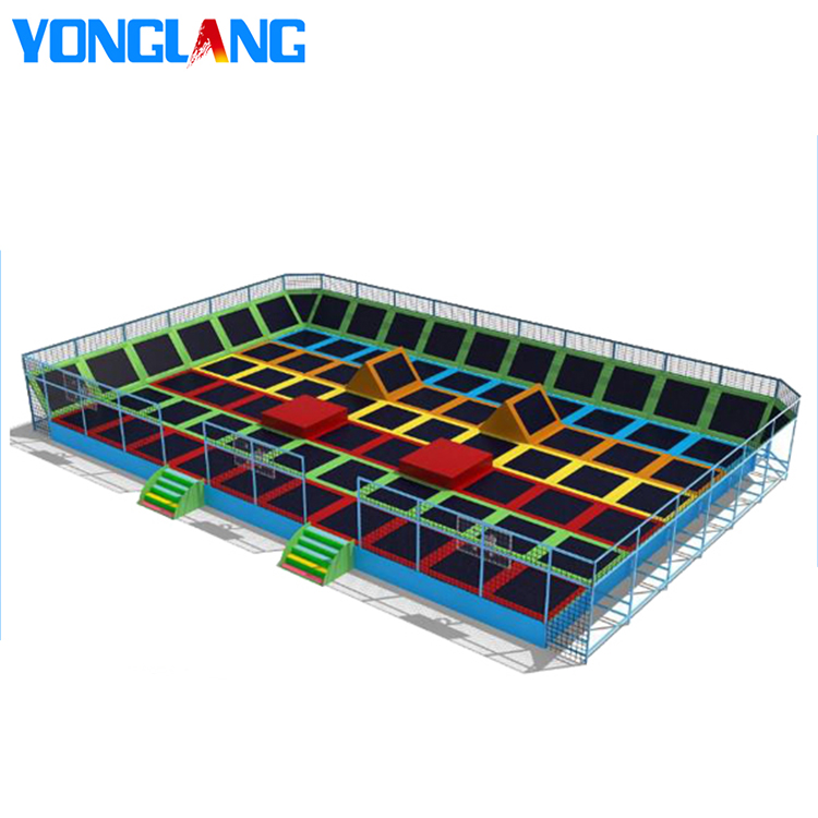 YL-BC026 Large Trampolines Game Play Big Size Indoor Trampoline Park Gymnastic Jumping Trampoline Tent