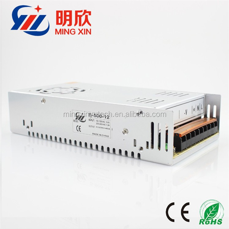 480w Ce Approved 12v 40a Dc Industrial Switching Power Supply 12 ...