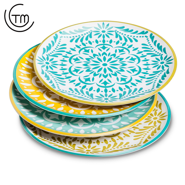 Fast delivery custom melamine plates dinner plate clear plastic charger wholesale Melamine dish  sc 1 st  Alibaba & China Plastic Plates Custom Wholesale ?? - Alibaba