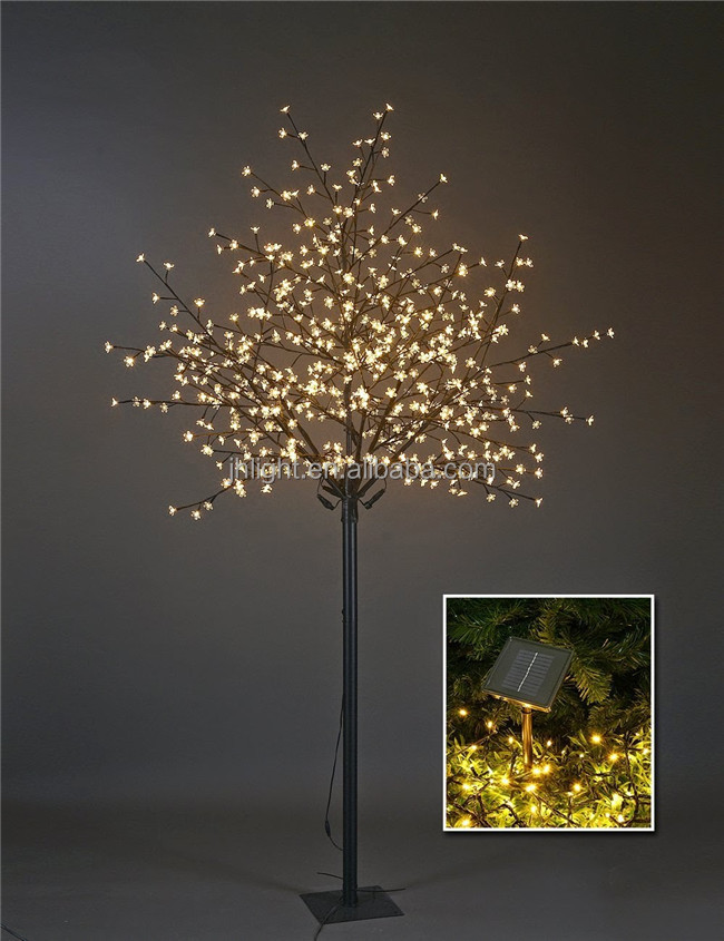 Led Solar Outdoor Christmas Tree Light,Solar Christmas Tree - Buy ...