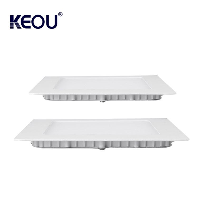 fast delivery Energy Saving led panel light 12v 6w flat lighting