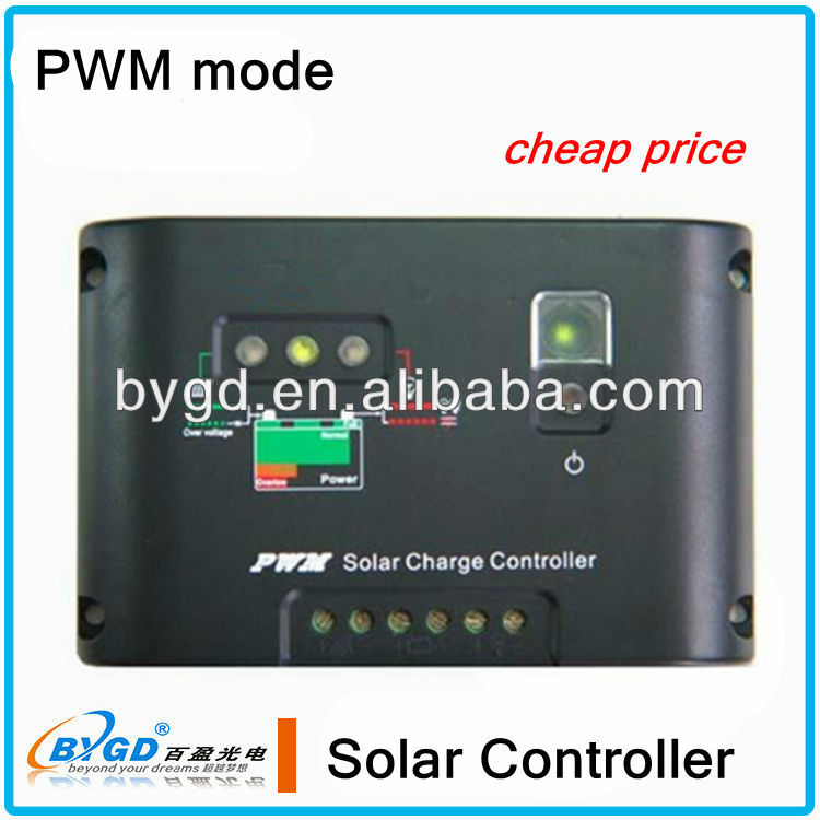 PWM 10A 12V/24V panel solar water heater intelligent controller(B-10A)