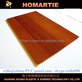 Flat Pvc Laminated Ceiling Panel Wood Laminated Pvc Board Clear Roofing Panels Interior Wall Decorative Panel Tablillas En Pvc Buy Plastic Laminated