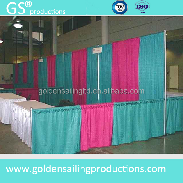 Decorative Wedding Backdrop Stand Pipe And Drape System For