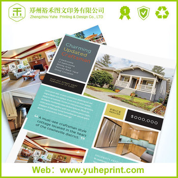 best price high quality business catalog printing for brochure