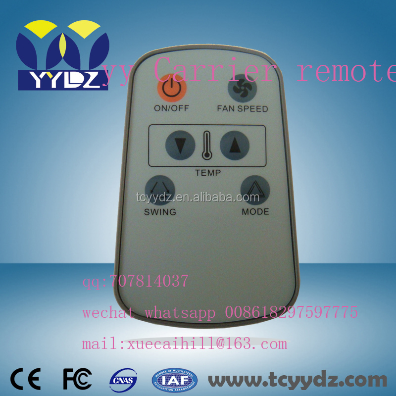 cheape price A/C air conditioner remote small carrier for Egpty market
