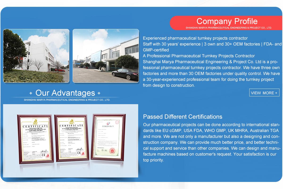 Shanghai Marya Pharmaceutical Engineering & Project Co , Ltd
