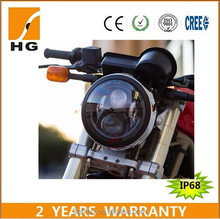 New Approval 65w 7'' high low beam led headlight for Honda moto