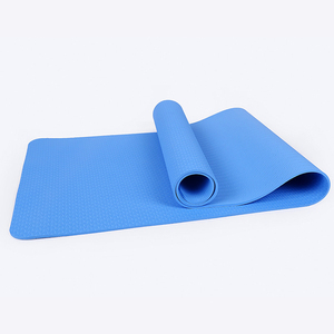 6mm Anti-skid Eco Friendly TPE Yoga Mat with Bag