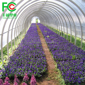 Made in CHINA flower planting warm house used 200 micron green woven fabric film