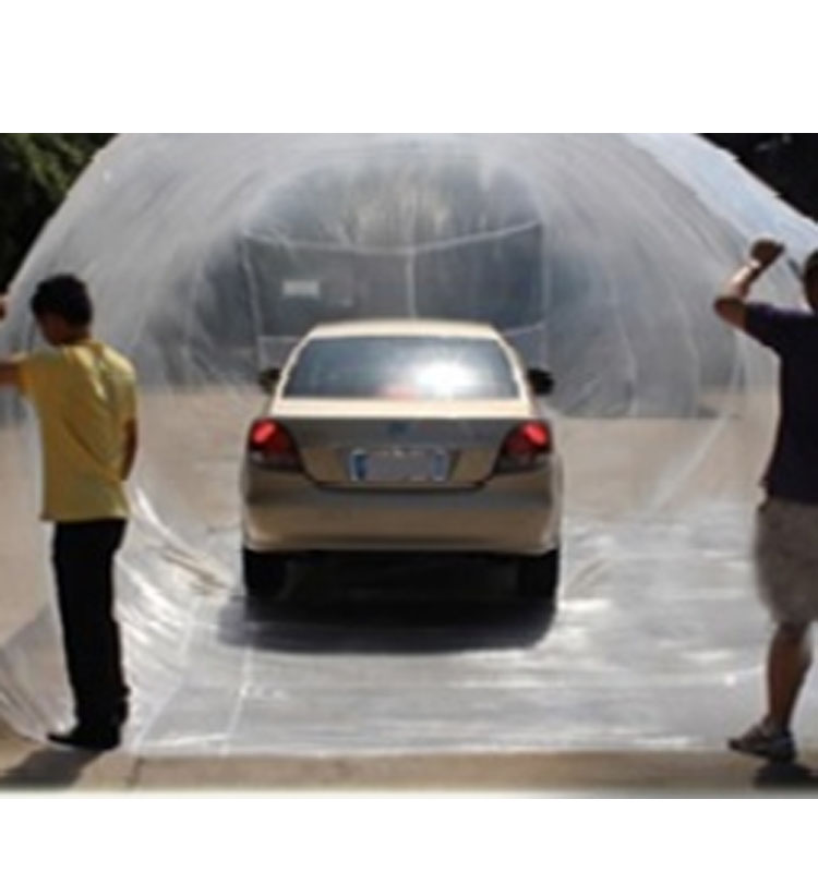 Flood Proof Pe Tarpaulin Clear Plastic Car Bag Cover Made In China