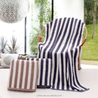 China Suppliers Bulk Buy cotton Striped Beach Towels Wholesale or Customize stripe towel