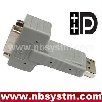 DispalyPort to DVI adapter 90 degree