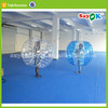 inflatable soccer walk in plastic bumperz bubble football